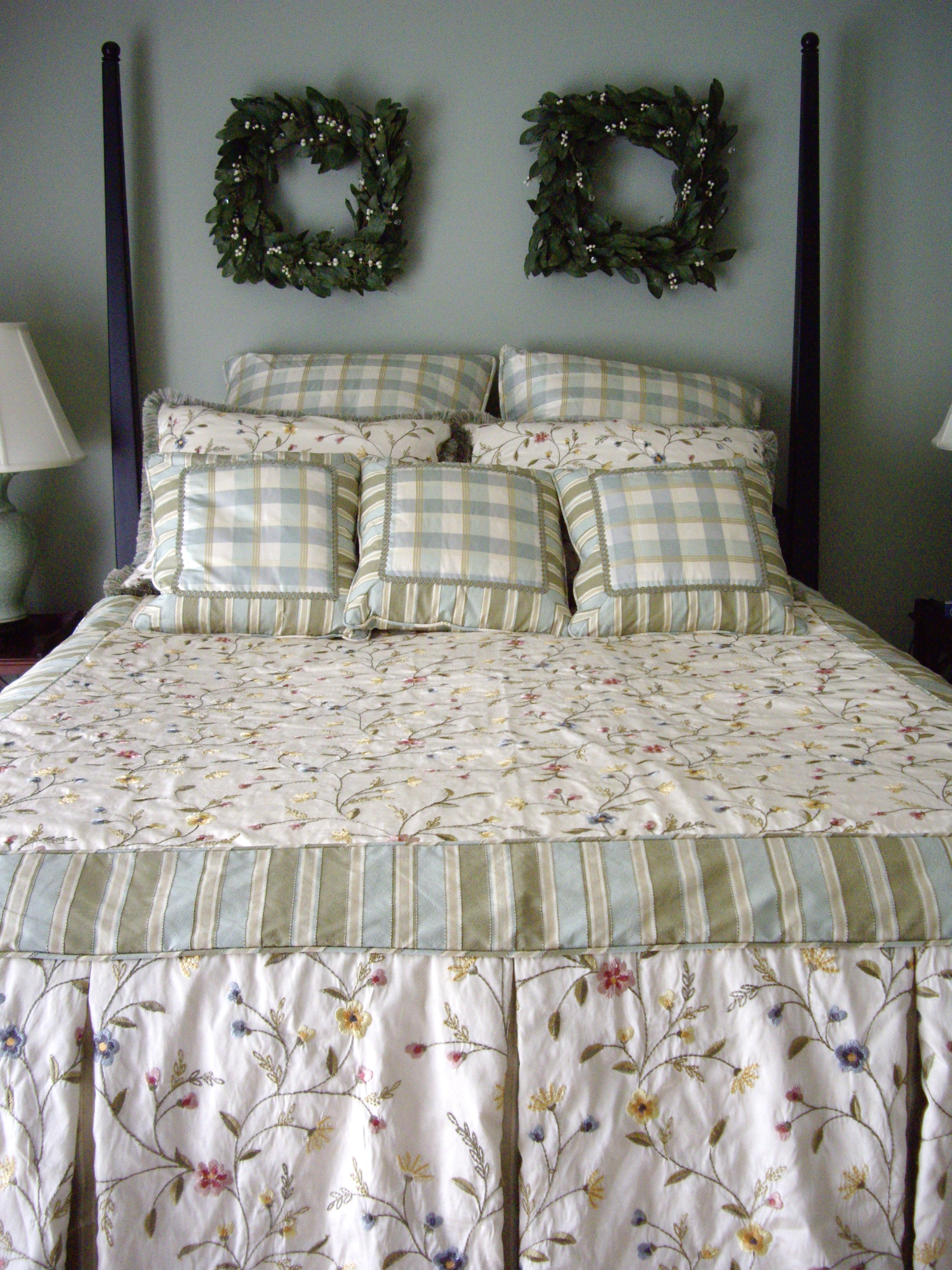 Custom designed bedding